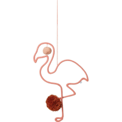 Mobile Pompons | Flamant Rose